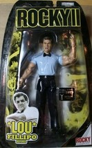 Rocky II Lou Fillipo Referee Action Figure JAKKS Pacific 2006 NIB NIP - $37.12