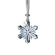 "Waterford 2020 Mini Snowflake Ornament 2.5"" Topaz Ice New in Box #1055092 - $58.06"