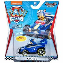 Paw Patrol Chase Ready Race Rescue Diecast Car 1:55 Scale - $10.00