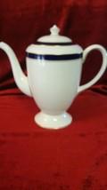 "Royal Worcester Howard Cobalt Blue 8 1/4"" Coffee Pot - $52.46"