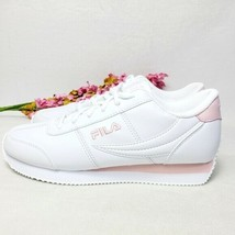 FILA Province Sneakers US Womens size 9 Pink/White - $47.52