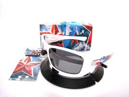 Oakley Sun Limited Edition Propaganda Hijinx Plshd White w/Blk Ird Polar... - $391.95
