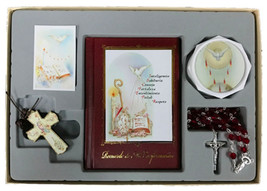 Girl or Boy Confirmation Gift Set - Rosary Prayer Book Keepsake Gift - $39.97