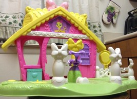 Disney~Fisher Price~Minnie Mouse~Jump'n Style Pony Stable Playset~4 REPL... - $8.82