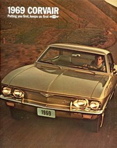 1969 Chevy Corvair ad POSTER 24 X 36 INCH  - $19.79