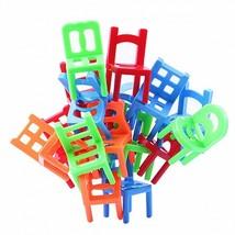 18Pcs Environmentally-friendly ABS Plastic Mini Balance Chairs Board Gam... - $10.92