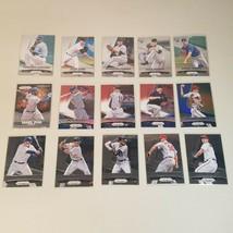 2015 Panini Prizim Mojo Red/White/Blue, Parallel, RC's (15 Baseball Card... - $28.99