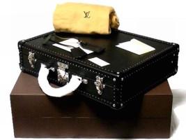 LOUIS VUITTON Attache Briefcase Bag Hard Case Trunk President Epi New L/... - $9,544.60