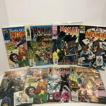 LOT OF 8 NOMAD COMICS MIXED MARVEL COMICS 1990s VINTAGE - $9.49