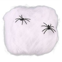 Creative Halloween Spider Decorations Stretchable Cotton Cob Webs - $8.98