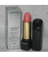 Lancome L'Absolu Rouge Replenishing & Reshaping Lipcolor in Rose Incarna... - $34.98