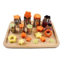 Vegetable Cutter Slicer Chopper Fruit Kitchen Potato Stainless Steel Dic... - $12.67