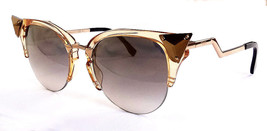 FENDI Women's Sunglasses FF0041/S Gold 52-20-135 MADE IN ITALY - New! - $255.00