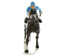 Hagen Renaker Specialty Horse with Jockey Racing Ceramic Figurine image 10