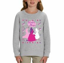 Disney Princess Winter Magic Children's Grey Unisex Sweatshirt - $25.07