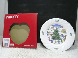 1999 Nikko Collector Plate, Frosty The Snowman Seventh Edition, Holiday ... - $12.75