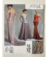 Uncut! Vogue Patterns V2810 Corset & Skirt Size 6/8/10 The NY Collection - $11.88