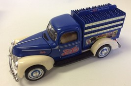 1940 Ford Pepsi Cola Pick Up bottles delivery Truck with certificate & b... - $23.76