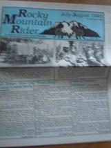 Rocky Mountain Rider Hamilton Montana July-August 1993 Paper - $6.99