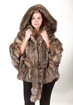 Canadian Lynx Fur Cape Hood Belt image 1