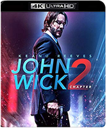 John Wick: Chapter 2 [4K Ultra HD + Blu-ray, 2017] - $13.95