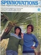 Spinnovations 4 Knitting PATTERN/INSTRUCTIONS Booklet Raglans for Men Wo... - $6.27