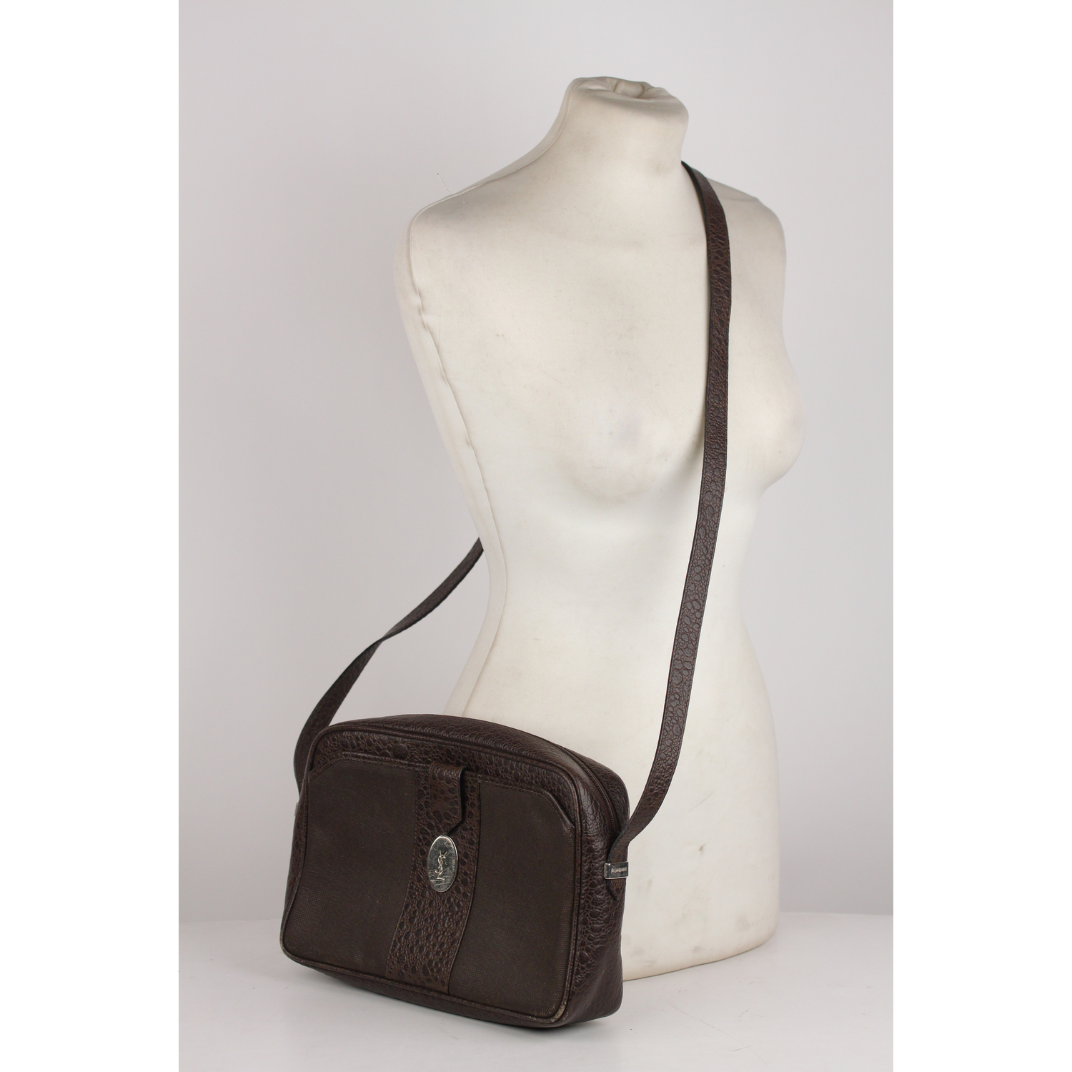 Authentic Yves Saint Laurent Vintage Brown and 50 similar items. 010c407b  e6fb 5b59 930d 917fc9b7f1a2 f7e81ec697856