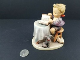 "Hummel Goebel Little Bookkeeper #306 TMK-5 Signed by Artist Gunter Meyer 5"" - $83.66"
