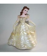 Schmid Disney Hand Painted Belle - Beauty & the Beast Music Box Figurine... - $32.00
