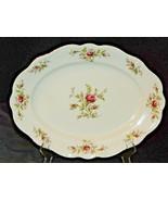 Johann Haviland Bavarian German China Moss Rose-Gold AA20-7320E Serving ... - $98.95