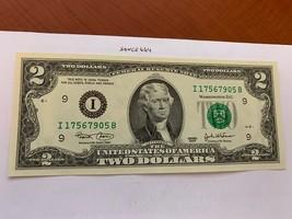 United States Jefferson $2 uncirc. banknote 2003 #6 - $7.95