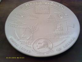 Frankoma BI-CENTENNIAL Plate Battles For.. 1974 [FR6/Z185] - $9.57