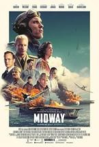 "MIDWAY - 13.5""X20"" Original Promo Movie Poster 2019 Luke Evans Ed Skrein... - $14.69"