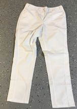 Chico's Women's White Light Weight AnklePants Sz 1.5 (M,10) - $18.69