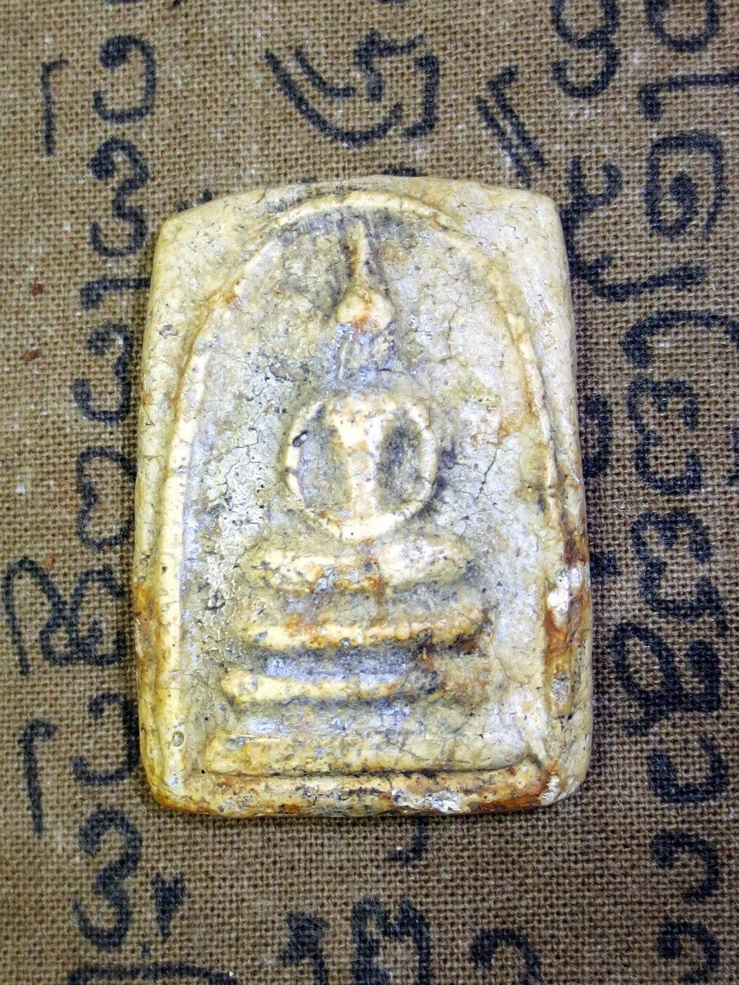 Primary image for Very Rare! Magic Clay Pra Somedet Jedi Super Powerful Victor Thai Buddha Amulets