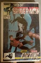 Vintage Marvel Comic Book Web of Spider-Man #10 Jan Dominic Fortune - $11.50