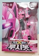 Miniforce X Lucybot Lucy Bot Pink Ranger Transformer Machine Car Robot Official - $83.73