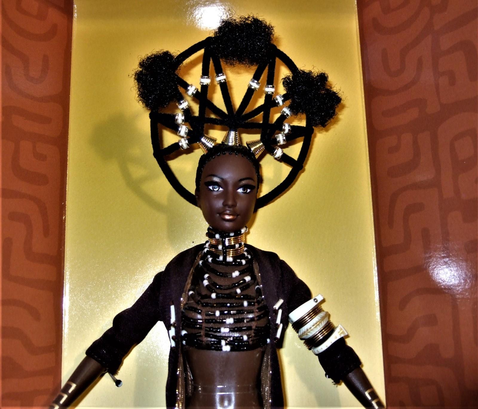 Barbie MOJA Barbie Treasures of Africa by Byron Lars 1st in the Series MIB image 3