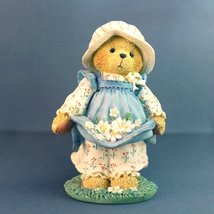 Cherished Teddies Gail Catching The First Blooms Of Friendship Enesco Re... - $21.48