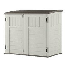 Outdoor 4-ft x 2-ft Locking Storage Shed with Easy Lift Lid - $375.00