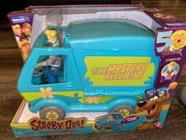 Scooby-Doo ~ Mystery Machine Fred Open Playset 50-Year Birthday Van - $14.01