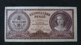 HUNGARY 1 MILLIARD PENGO BANKNOTE XF 1946 NO RESERVE - $9.49