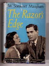 THE RAZOR'S EDGE W. Somerset Maugham      W/DJ  1st Triangle      Ex++ 1946 - $41.74
