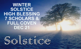 27x FULL COVEN & SCHOLAR WINTER SOLSTICE HIGH BLESSING MAGICK Witch Cass... - $22.39