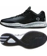 Adidas Men's D Rose Englewood Basketball Shoes Low Black/Metallic Silver - $89.99
