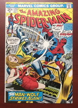 Amazing Spider-Man #125 Marvel 1973 2nd Appearance Man-Wolf VG+ - $40.00