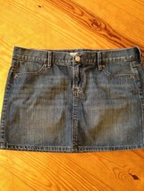 Old Navy Women's Skirt 100% Cotton 2 Pocket Jean Skirt Size 6 - $13.68