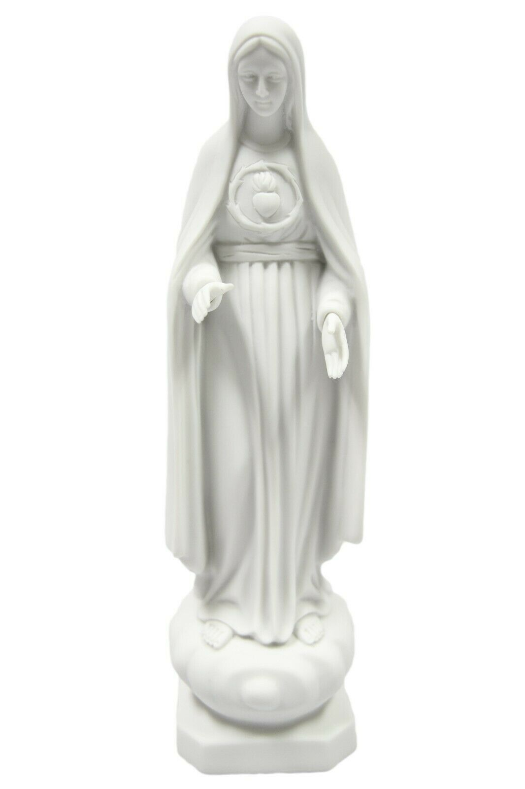 "Primary image for 12"" Our Lady of Fatima Immaculate Virgin Mary Catholic Statue Sculpture Italy"