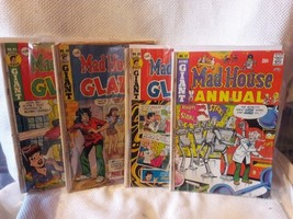 Archie Giant Series Comic Book Set, The Mad House Glads, #s 12, 88, 88, 91 - $7.49