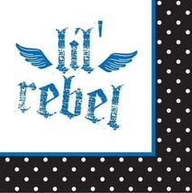 Little Rebel 1st Birthday Dessert Beverage Napkins 16 Per Package Party  - $3.42